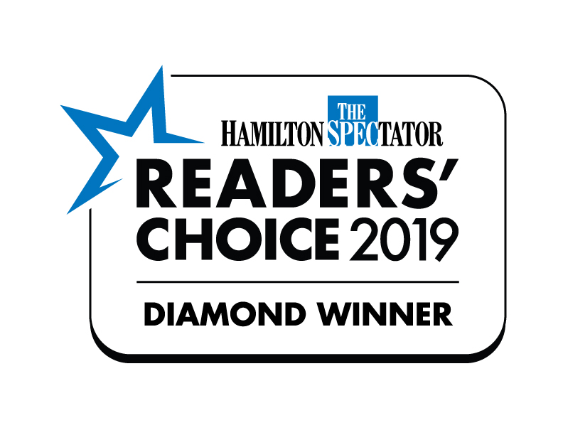 2019-2015 Hamilton Spectator Readers' Choice Awards