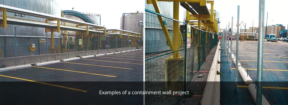 containment wall project